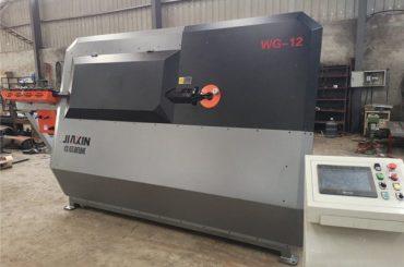 4mm-12mm hidrouliese CNC steel bar bender, rebar buig masjien, outomatiese staal stirrup buig masjien