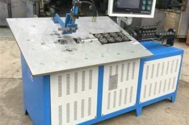 warm koop outomatiese 3d staal draad vorm masjien cnc, 2d draad buig masjien prys