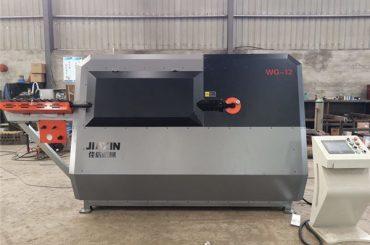 China vervaardiger 4-12mm outomatiese CNC beheer staal draad, rebar buig masjien