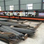 fabriek prys dubbel kop cnc buig masjien met die goedkoopste prys